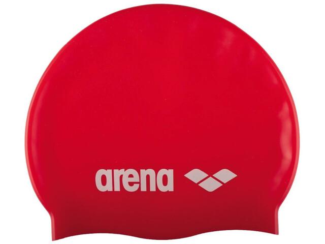 arena Classic Silicone Gorra, red/white